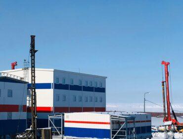 Береговая инфраструктура плавучей АЭС в г. Певек