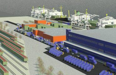 Морской порт ролкерный_1