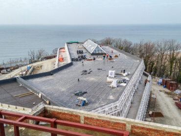 Реконструкция и расширение пионерского лагеря «Олимпийская деревня» (Орленок)